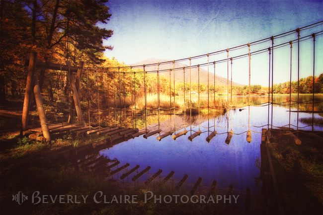 Cross the Swinging Bridge
