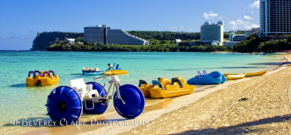 Tropical Fun at the Beach in Tumon Bay Guam