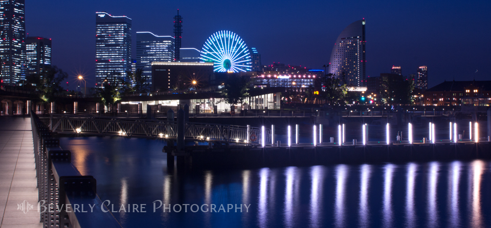 Yokohama Minatomirai at Night