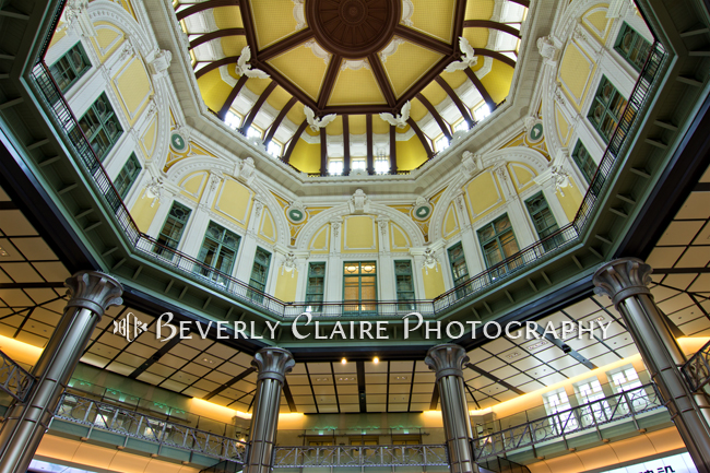 Tokyo Station Marunouchi Building Dome Interior After Restoration