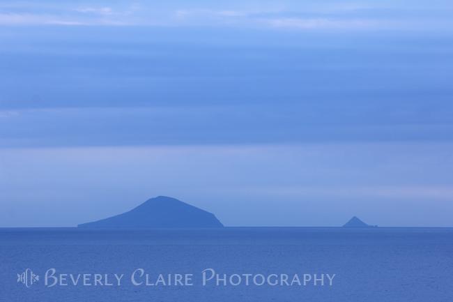 Serene Blue Islands Off the Coast of Shimoda at Dawn
