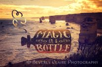 Magic in a Bottle Twelve Apostles Great Ocean Road Sunset