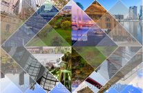 Melbourne World's Most Livable City Photomontage