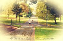 Find Yourself Go Run at Fitzroy Gardens in Melbourne Australia